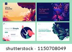 set of web page design... | Shutterstock .eps vector #1150708049