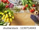 flower blossom florist retail... | Shutterstock . vector #1150714043