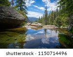 cascade creek is a roadside... | Shutterstock . vector #1150714496