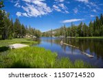 mosquito lakes in summertime  ... | Shutterstock . vector #1150714520