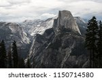 valley view of half dome and...   Shutterstock . vector #1150714580