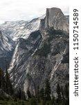 half dome and tenaya peak in...   Shutterstock . vector #1150714589