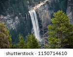 smooth flowing vernal falls and ...   Shutterstock . vector #1150714610