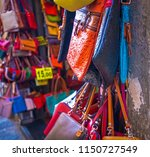 leather bags of different...   Shutterstock . vector #1150727549