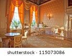 interior of luxury classic... | Shutterstock . vector #115073086