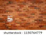 the number five painted onto a... | Shutterstock . vector #1150764779