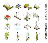 agriculture automation smart... | Shutterstock .eps vector #1150776206