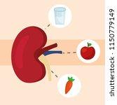 world kidney day | Shutterstock .eps vector #1150779149