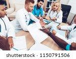 doctors meeting. diagnostic...   Shutterstock . vector #1150791506