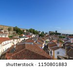 scenic view of white houses red ...   Shutterstock . vector #1150801883