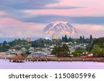 Mount Rainier Over Tacoma...