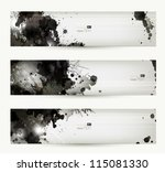 abstract grunge artistic... | Shutterstock .eps vector #115081330