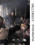 russia  saint petersburg. 26 01 ... | Shutterstock . vector #1150817780