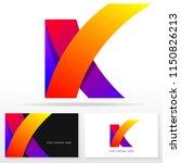 letter k logo icon design... | Shutterstock .eps vector #1150826213