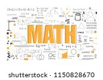math theory and mathematical... | Shutterstock .eps vector #1150828670