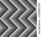 seamless pattern of rhombuses.... | Shutterstock .eps vector #1150835150