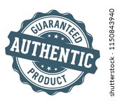 guaranteed authentic product... | Shutterstock .eps vector #1150843940