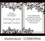 vintage delicate greeting... | Shutterstock . vector #1150853966