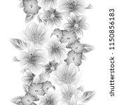 abstract elegance seamless... | Shutterstock . vector #1150856183