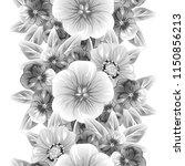 abstract elegance seamless... | Shutterstock . vector #1150856213