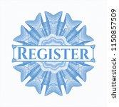 light blue abstract linear... | Shutterstock .eps vector #1150857509