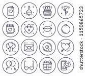 love line icons concept set.... | Shutterstock .eps vector #1150865723
