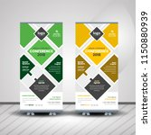 creative conference roll up... | Shutterstock .eps vector #1150880939