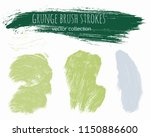 paint lines grunge collection.... | Shutterstock .eps vector #1150886600