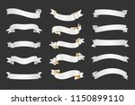 nice vintage ribbon elements... | Shutterstock .eps vector #1150899110
