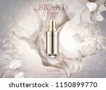 skincare spray with pearl white ... | Shutterstock .eps vector #1150899770