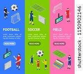 soccer competition banner... | Shutterstock .eps vector #1150902146