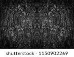 black bark texture background.   Shutterstock . vector #1150902269