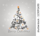 christmas winter   Shutterstock . vector #115091650