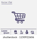flat icons for web and mobile...   Shutterstock .eps vector #1150922606