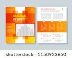 business broshure  flyer ... | Shutterstock .eps vector #1150923650