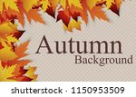 vector background with red ... | Shutterstock .eps vector #1150953509