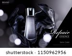 repair essence with dark black... | Shutterstock .eps vector #1150962956