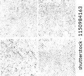 wavy grunge stripes textures.... | Shutterstock .eps vector #1150984163