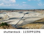 panoramic view of quarry on a... | Shutterstock . vector #1150991096