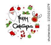 cute cartoon circle template...   Shutterstock .eps vector #1151011079