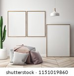 dining room and kitchen... | Shutterstock . vector #1151019860