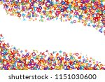 vector colorful mathematics... | Shutterstock .eps vector #1151030600