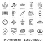 set of 20 simple editable icons ... | Shutterstock .eps vector #1151048030