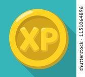 vector icon gold achievement xp ...