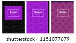 light purple vector cover for...