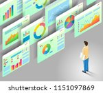 data analytics concept.... | Shutterstock . vector #1151097869
