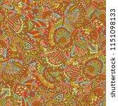ethnic tribal seamless design... | Shutterstock . vector #1151098133