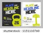 vector layout design template... | Shutterstock .eps vector #1151110760