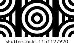 seamless pattern with circles... | Shutterstock .eps vector #1151127920