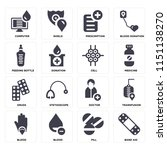 set of 16 icons such as band...